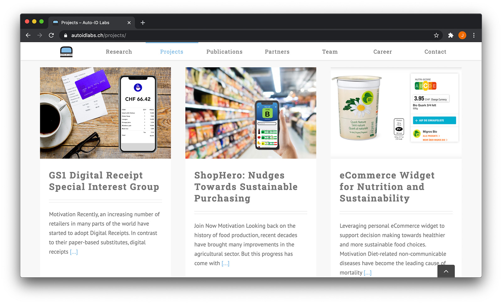 Auto-ID-Labs Screenshot