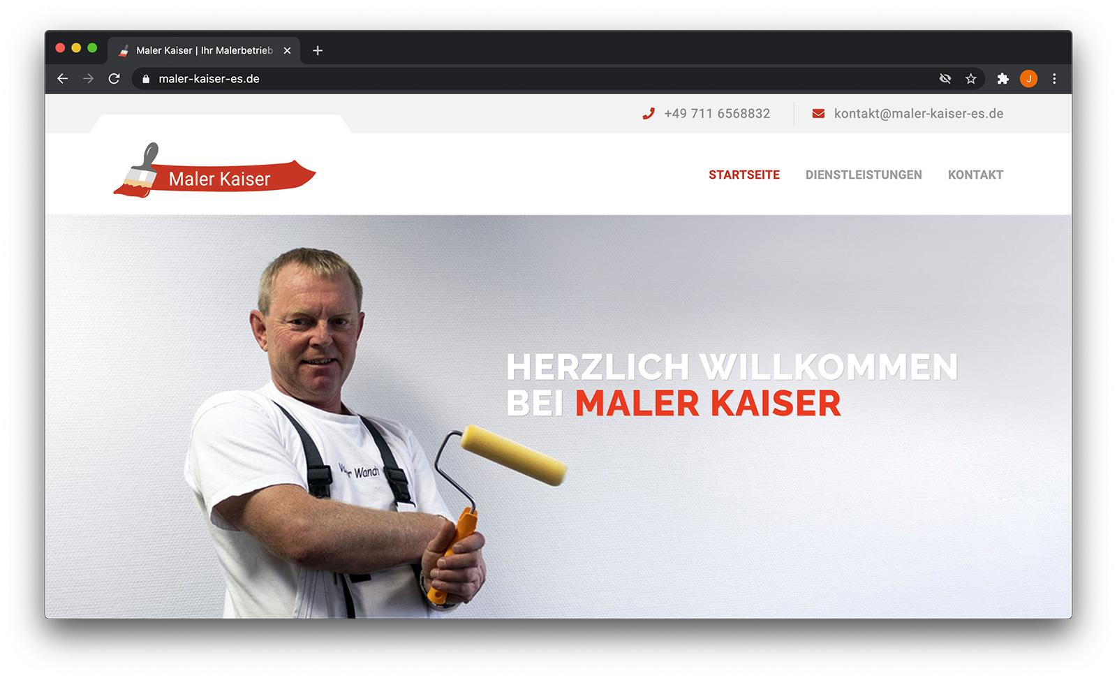 Maler Kaiser Screenshot