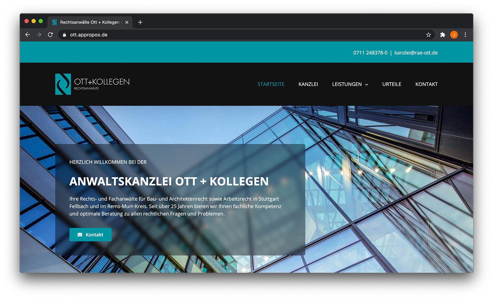 Ott + Kollegen Screenshot